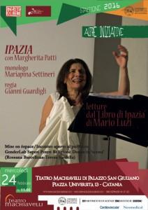 Ipazia - letture dal Libro di Ipazia di Mario Luzi